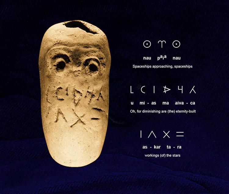 Resonance in the Glozel Paleolithic Texts
