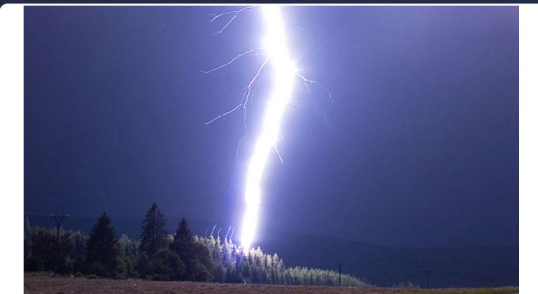 Resonant Transmutation of Deuterium in Lightning