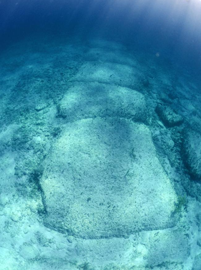 Fibonacci alignments of the Azores Pyramid & submerged city of Poseida Submerged12